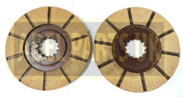 BRAKE DISCS (PAIR)  (PART NO. 15/104700)